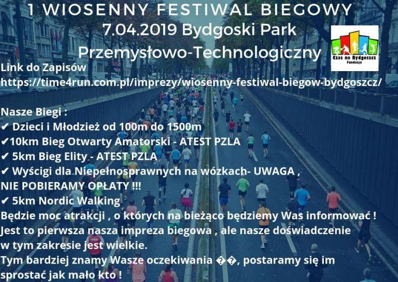 1. Wiosenny Festiwal Biegowy
