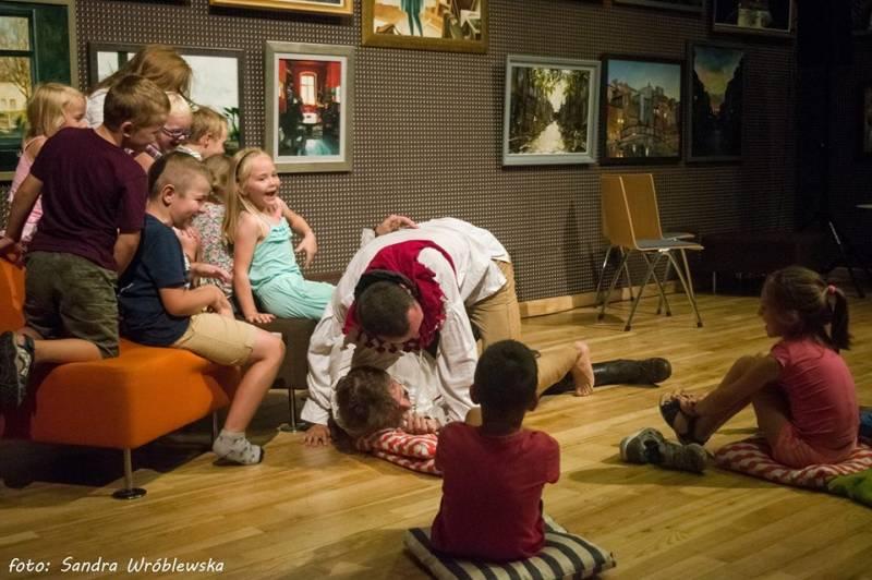 Robimy Bajkę - warsztaty impro dla dzieci!