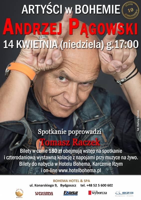 Artyści w Bohemie. Andrzej Pągowski na finał sezonu