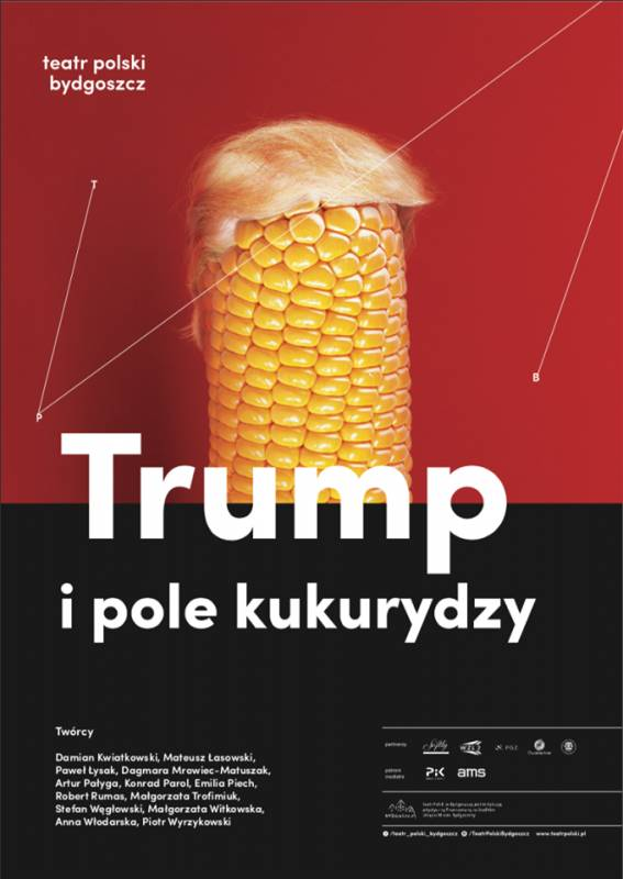 Trump i pole kukurydzy