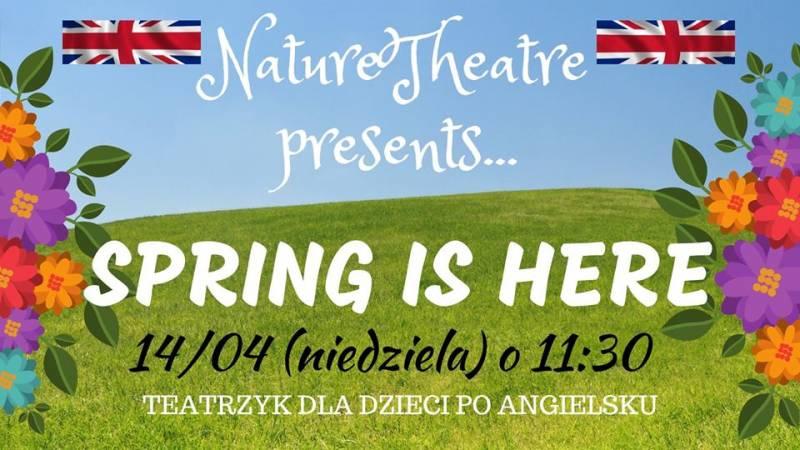NatureTheatre - spektakl dla dzieci po angielsku