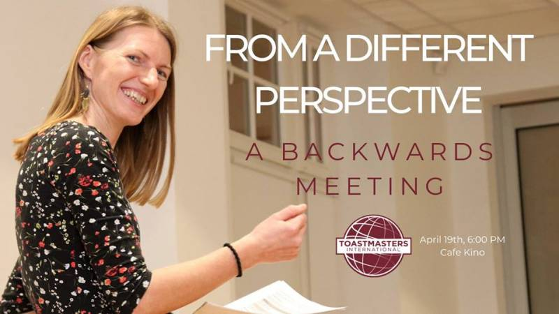 From a different perspective - a backwards meeting