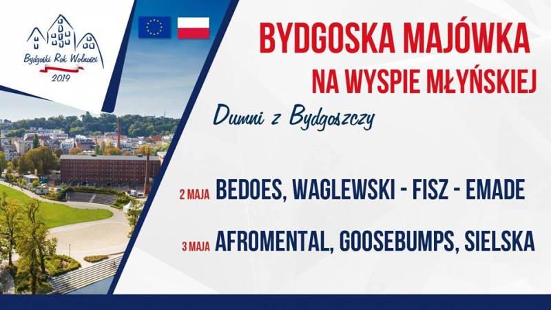 Bydgoska Majówka na Wyspie Młyńskiej - Dumni z Bydgoszczy