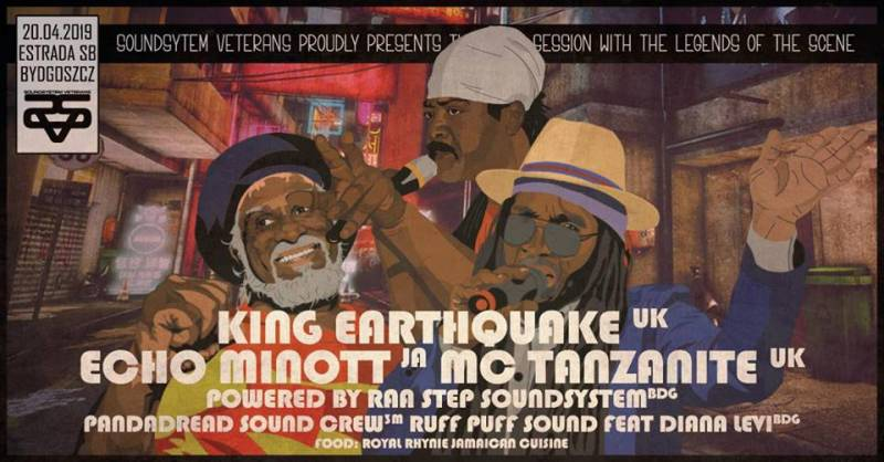 Sound System Veterans#1 King Earthquake/Echo Minott/MC Tanzanite