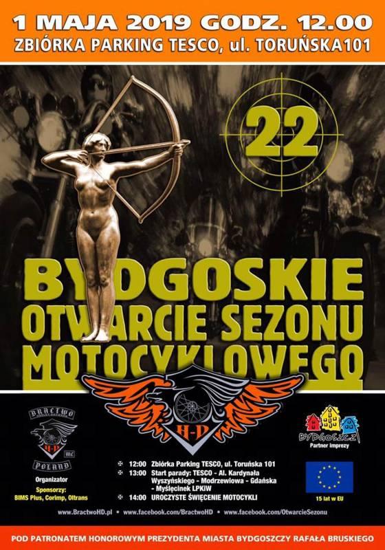 XXII Bydgoskie Otwarcie Sezonu Motocyklowego 2019