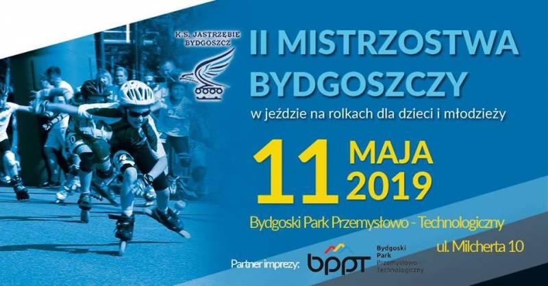 Mistrzostwa Bydgoszczy dla dzieci i młodzieży w jeździe na rolkach
