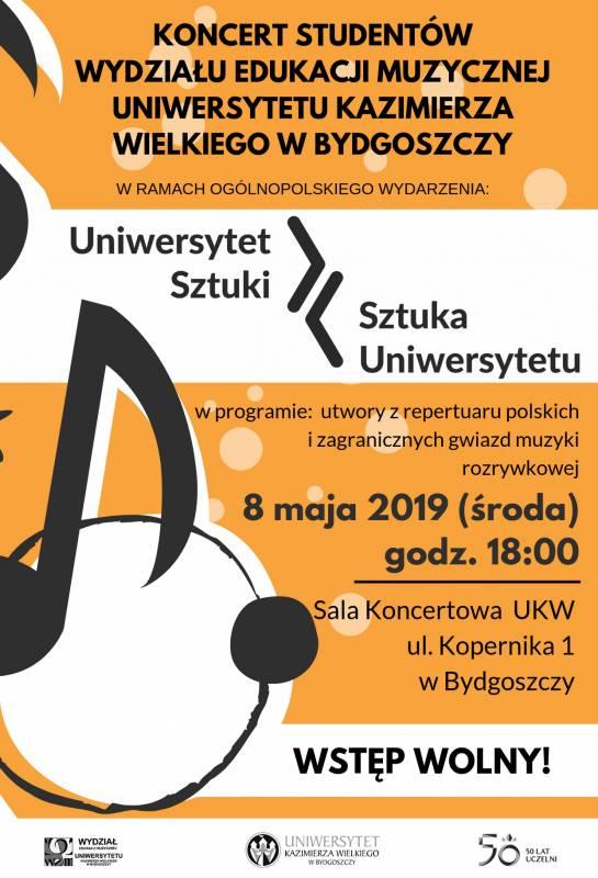 Koncert studentów Wydziału Edukacji Muzycznej