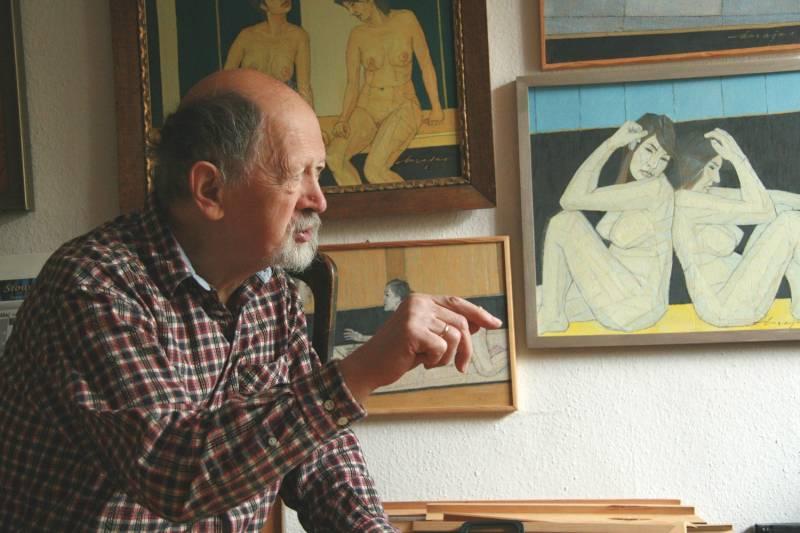 Otwarcie wystawy obrazów Kazimierza Drejasa pt. Akty - poszukiwanie formy