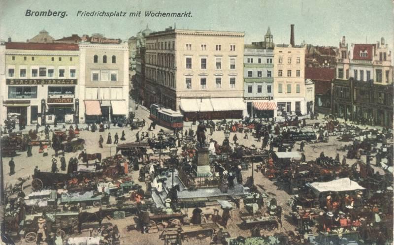 Wystawa Miasto jak z Bajki 1 i 2 - Bydgoszcz na starej pocztówce