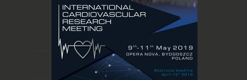 International Cardiovascular Research Meeting 2019 Bydgoszcz