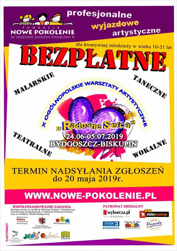Radosne Serca - Ogólnopolskie Warsztaty Artystyczne
