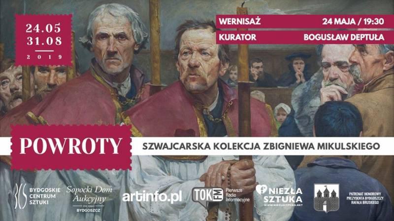 Wernisaż wystawy: Powroty. Szwajcarska kolekcja Zbigniewa Mikulskiego