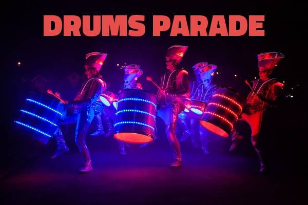 DRUMS FUSION: Parada Perkusyjna + prezentacja