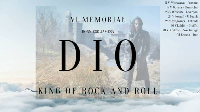 Tribute to Ronnie James Dio (Rainbow, Black Sabbath)