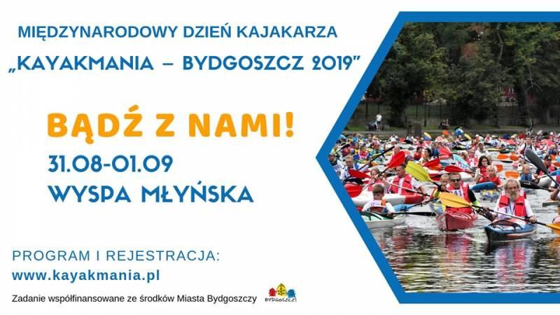 Międzynarodowy Dzień Kajakarza Kayakmania Bydgoszcz 2019