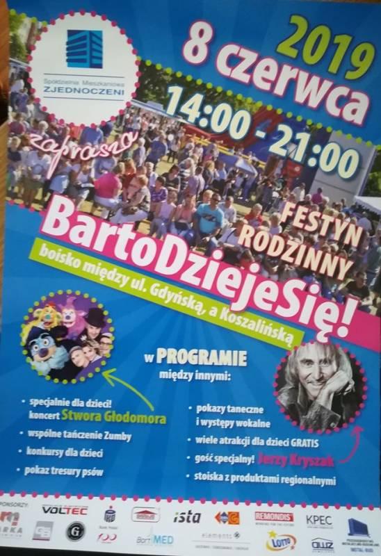 BartoDziejeSię! - Festyn rodzinny - Organizator SM Zjednoczeni