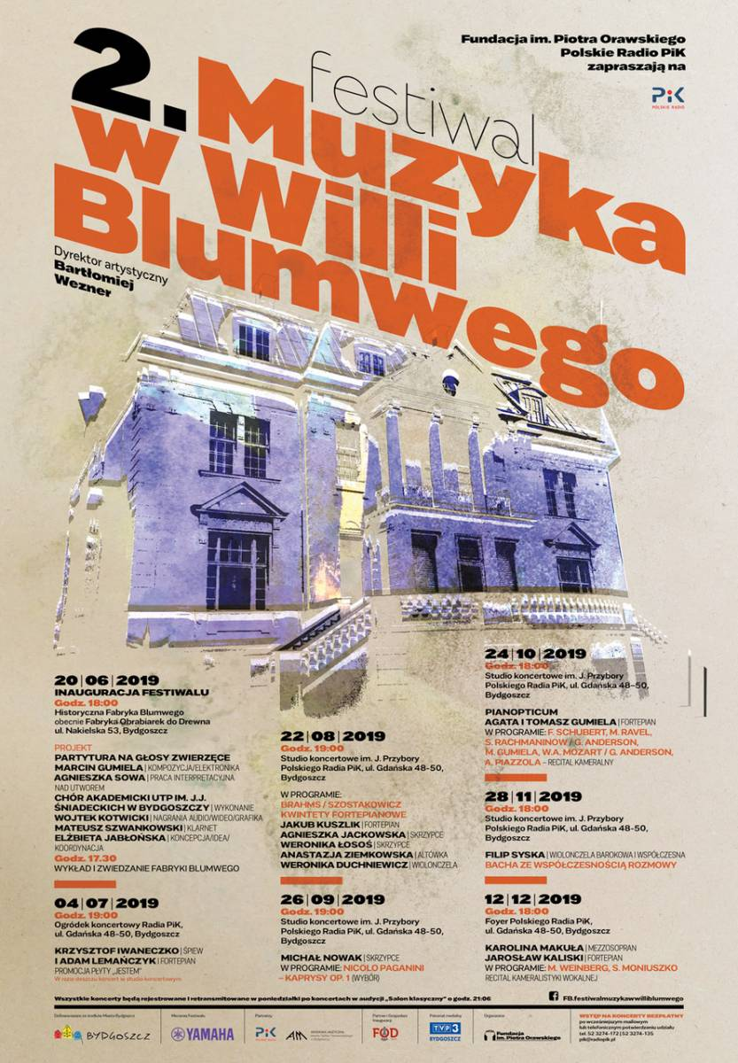 II Festiwal Muzyka w Willi Blumwego