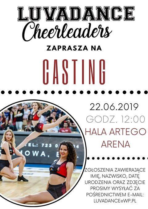 Casting Luvadance Cheerleaders
