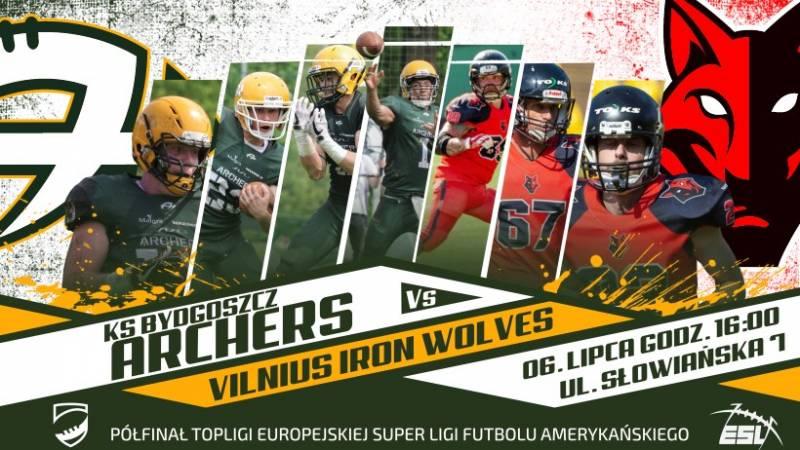 Półfinał Europejskiej Super Ligi: KS Bydgoszcz Archers - Iron Wolves