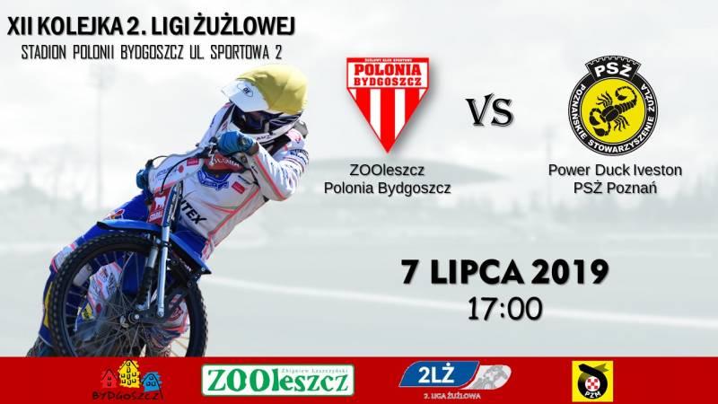 ZOOleszcz Polonia Bydgoszcz - Power Duck Iveston PSŻ Poznań