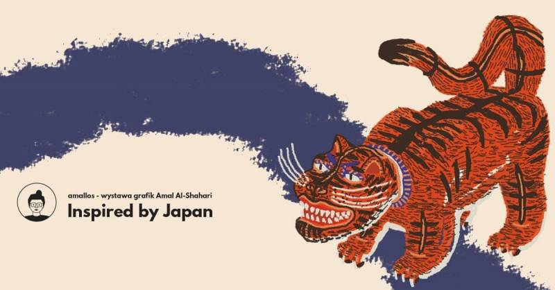 Inspired by Japan - wystawa grafik Amal Al-Shahari