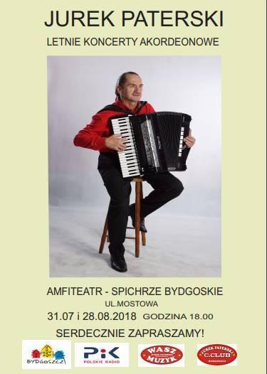 Jurek Paterski - Letnie Koncerty Akordeonowe