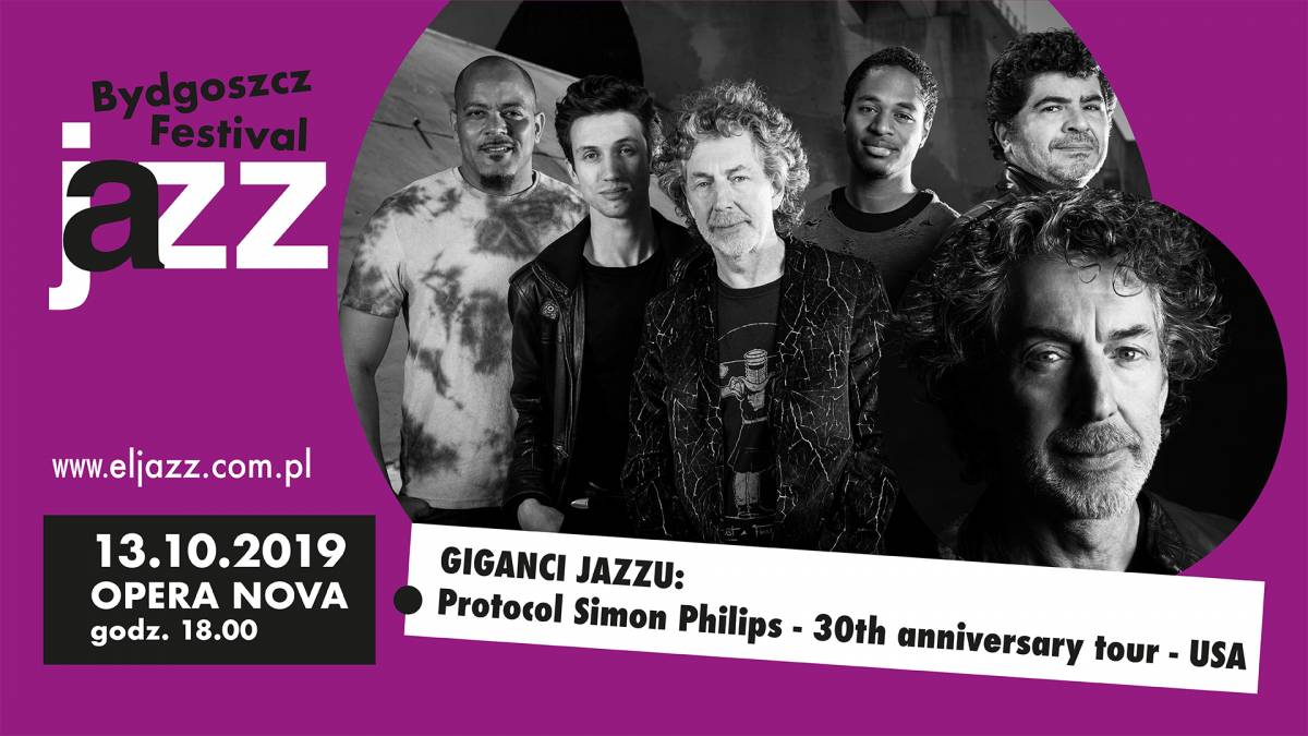 17 Bydgoszcz Jazz Festival - GIGANCI JAZZU - Protocol Simon Philips