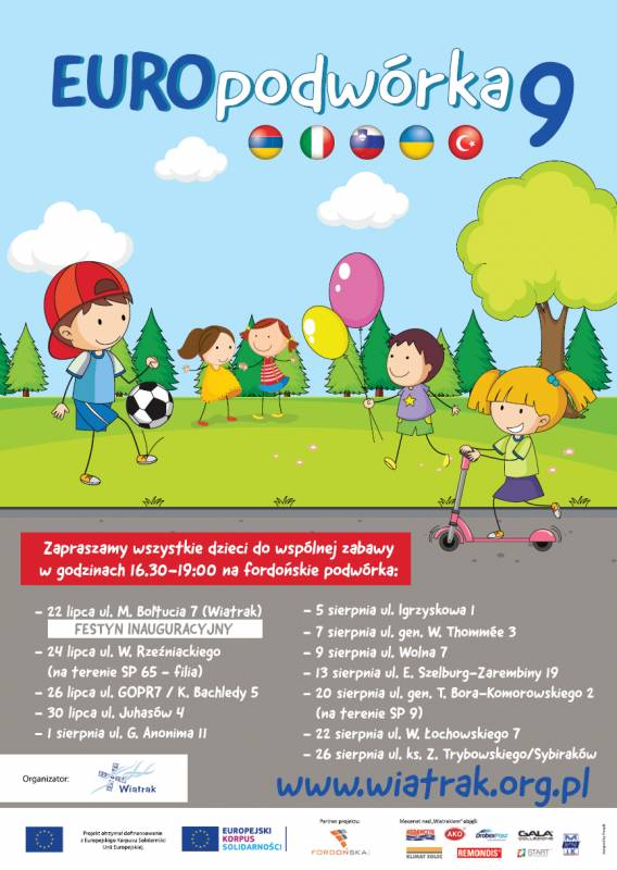 9 edycja projektu Europodwórka