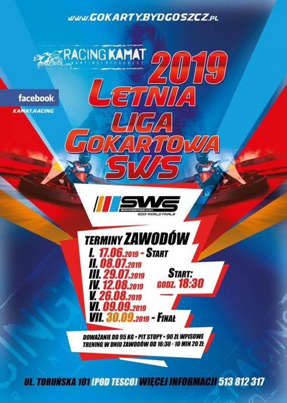 Letnia Liga Gokartowa Racing Kamat 2019