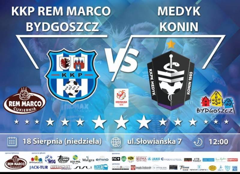 3. kolejka ekstraligi: KKP Rem Marco Bydgoszcz - Medyk Konin