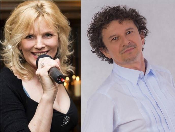 Renata Zarębska i Jacek Wójcicki na balkonie Święcickiego!