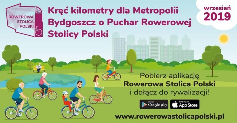 Kręć kilometry dla Metropolii - Bydgoszcz - Borówno