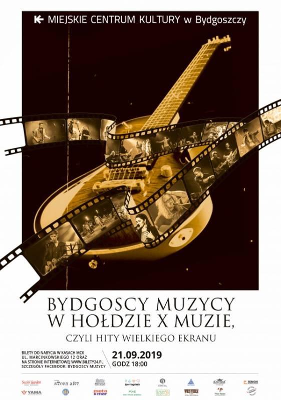 Bydgoscy Muzycy w Hołdzie X Muzie czyli hity wielkiego ekranu