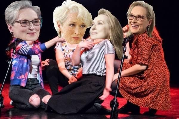 """wymyWammy: """"Być jak Meryl Streep"""" - spektakl improwizowany"""