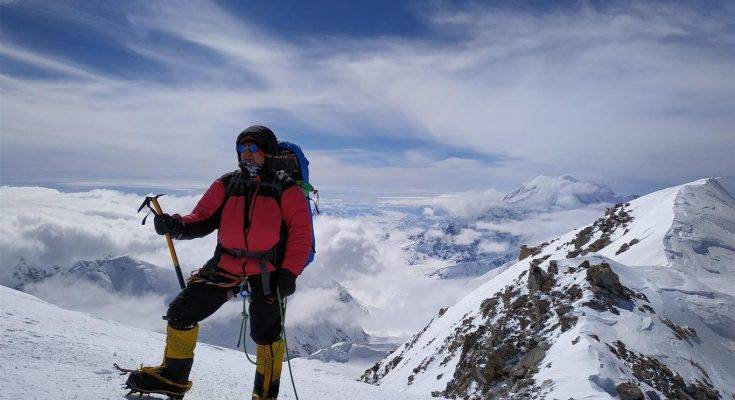 Paweł Klejbor - Alaska - Denali mroźny przeciwnik