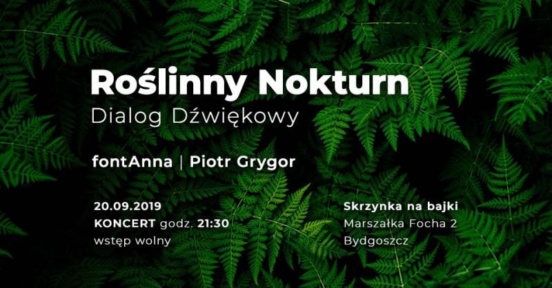 Noc Księgarń: Roślinny Nokturn - dialog dźwiękowy