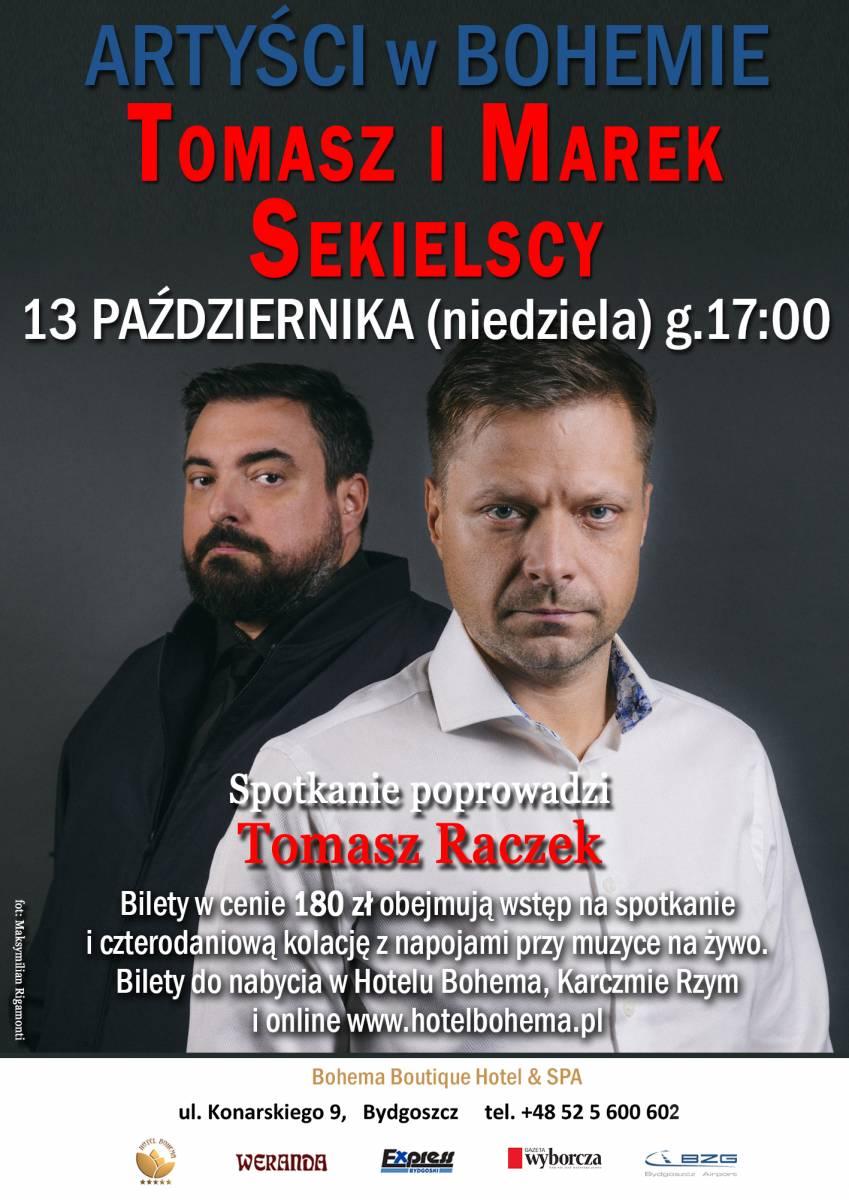Artyści w Bohemie: Tomasz i Marek Sekielscy