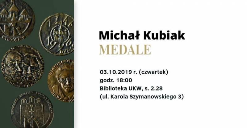 Michał Kubiak - medale - otwarcie wystawy