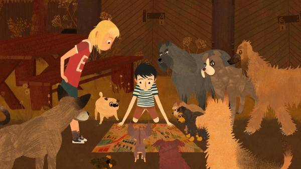 Animocje dla dzieci: Jakub, Mimi i gadające psy