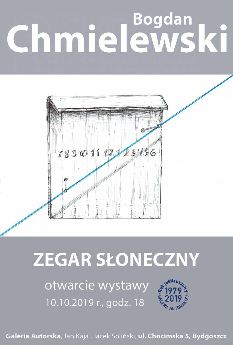 Otwarcie wystawy Bogdana Chmielewskiego Zegary słoneczne