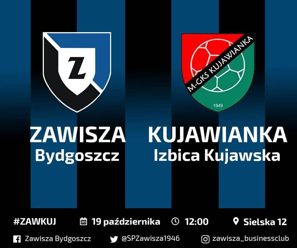 Zawisza Bydgoszcz - Kujawianka Izbica Kujawska