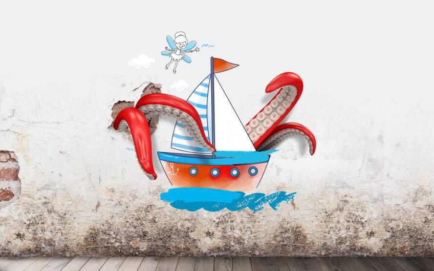 Baśniowy mural - czyli teatralno-plastyczna zabawa dla rodzin