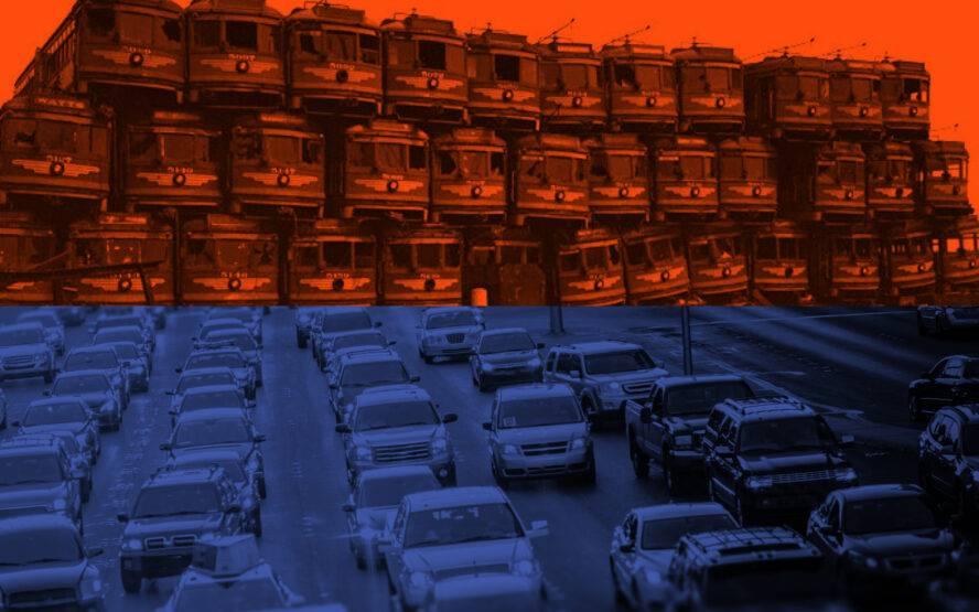 Wpuszczeni w korek - czyli jak samochód i lobby autostradowe zmieniło kształt Ameryki