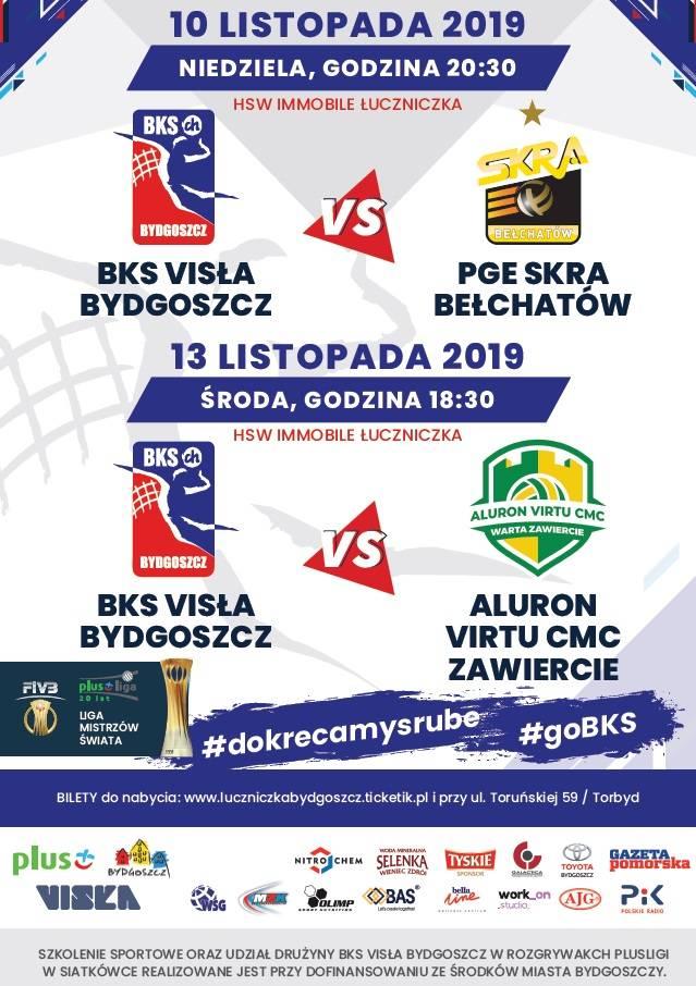BKS Visła Bydgoszcz - Aluron Virtu CMC Zawiercie