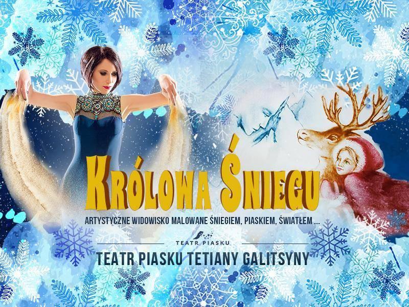 Królowa Śniegu - Teatr Piasku Tetiany Galistyny