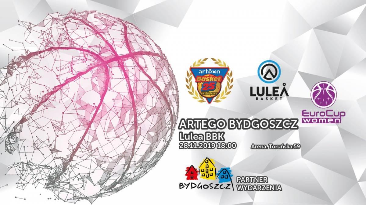 Koszykówka kobiet: Artego Bydgoszcz - Lulea BBK