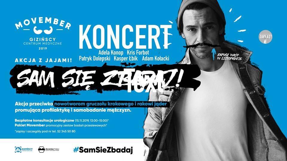 Koncert Konop/Forbot/Dolepski/Kołacki/Łbik - Movember