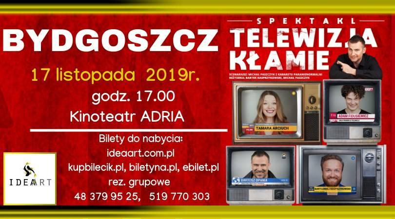 Telewizja Kłamie - spektakl