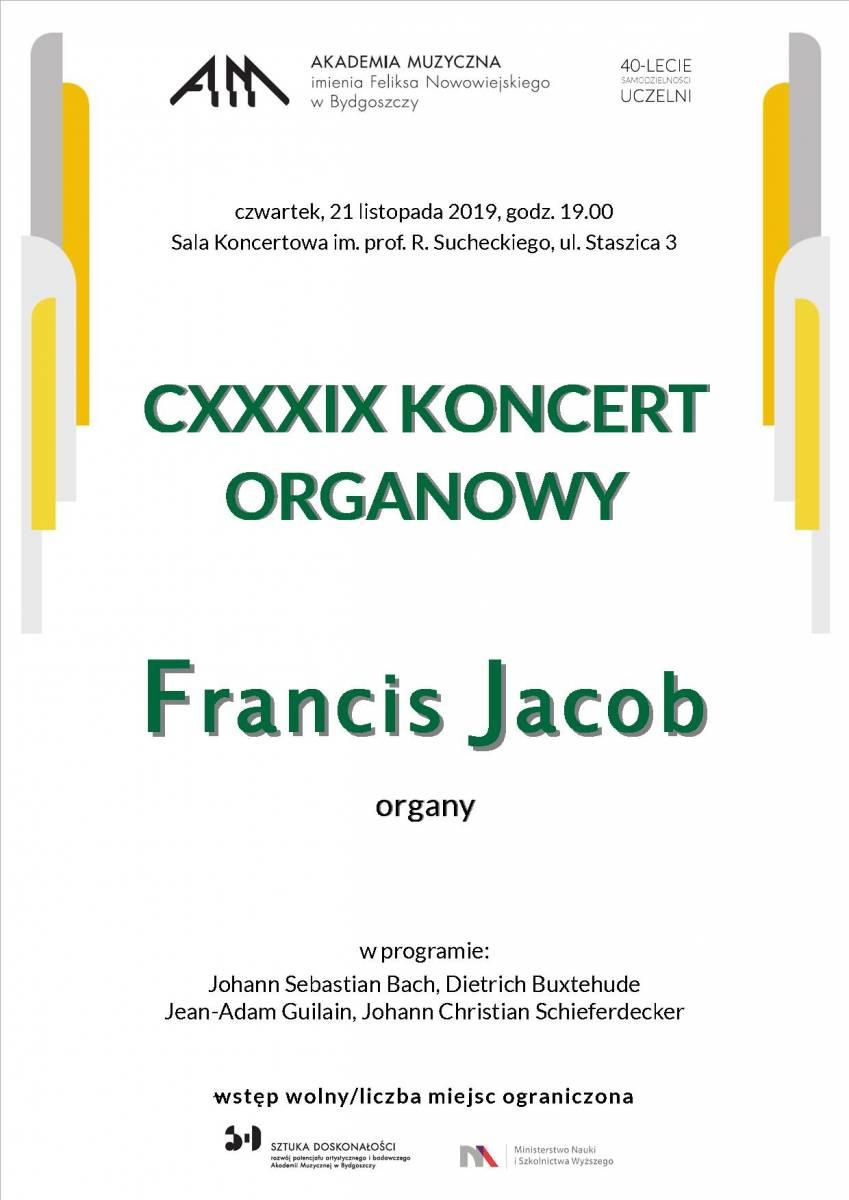 CXXXIX Koncert Organowy