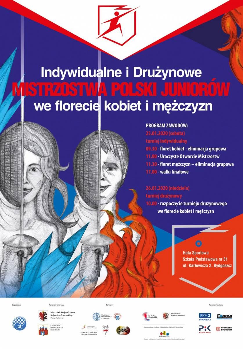 Indywidualne i Drużynowe Mistrzostwa Polski Juniorów we florecie kobiet i mężczyzn